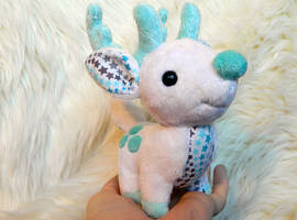 Chibi Reindeer Plush by HobbaGobwin