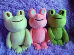 Frog Plushies