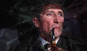 Peter Cushing Holmes ELECTRO