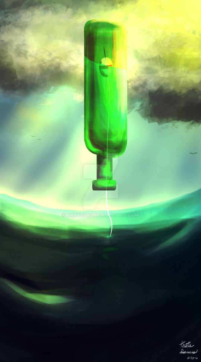 Ocean Bottle by ArbyZors