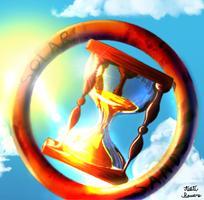 Solar Sands Hourglass Logo