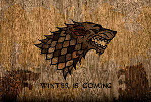 Game of Thrones-WinterIsComing by mihusz