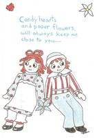 raggedy ann and andy by bluejuline