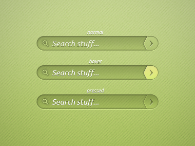 Green Search Bar PSD by Th3-ProphetMan