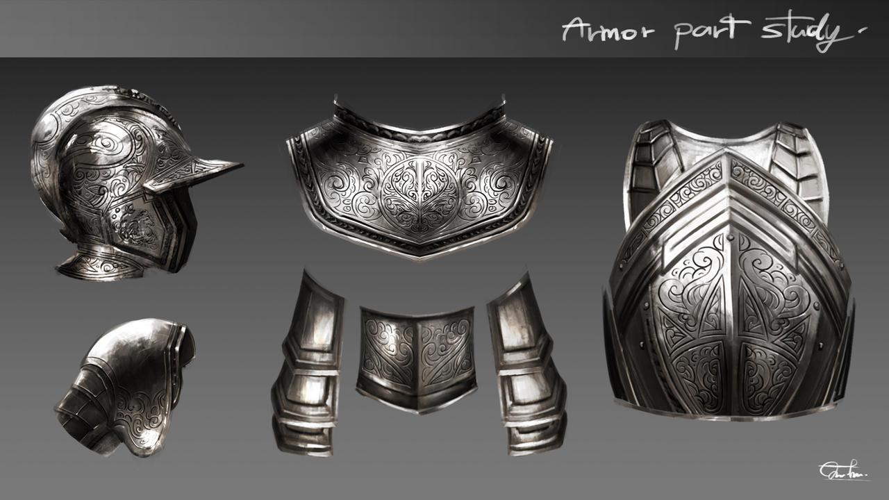Armor Parts Study#002 by Razaras