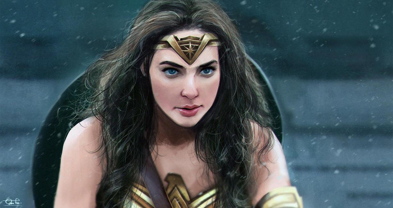 Wonder Woman(Gal Gadot) by Razaras