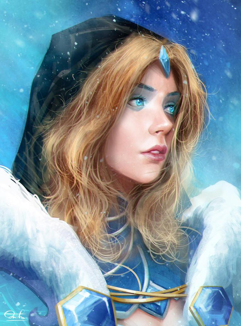 Dota2 Series#006 Crystal Maiden by Razaras