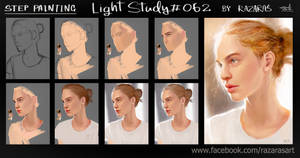 Some steps painting Light#062 by Razaras
