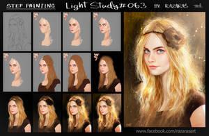 Some Steps Painting Light Study#063 by Razaras