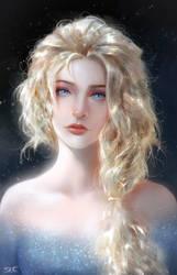 Elsa - Frozen 2 Fanart by Razaras