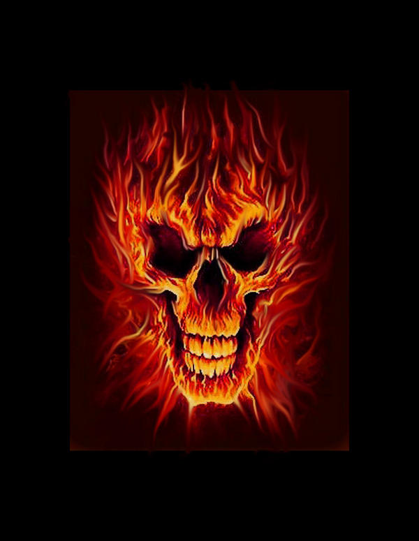 Fire skull by torrent demonz on deviantart fire skull by torrent demonz voltagebd Images