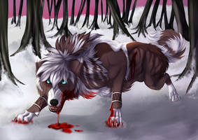 The blood rules this forest - XVI by ImmatureGirl