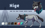 Hige (character references sheet)