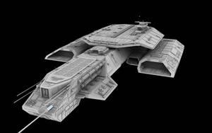 Stargate Daedalus White by svenniemannie