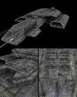 Daedalus Texture WIP 2 by svenniemannie