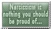 Narcissism - stamp