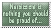 Narcissism - stamp by Angi-Shy