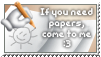 Papers needed - stamp