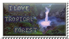 Tropical Forest - stamp by Angi-Shy
