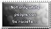 Racism - stamp