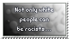 Racism - stamp by Angi-Shy