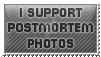 I support postmortem photos - stamp by Angi-Shy