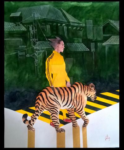 Tiger Lee by randyvaliente