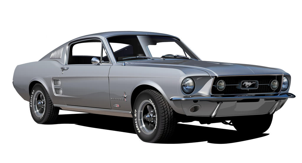 1967 Ford Mustang 390 Gta By Drogobroadband On Deviantart