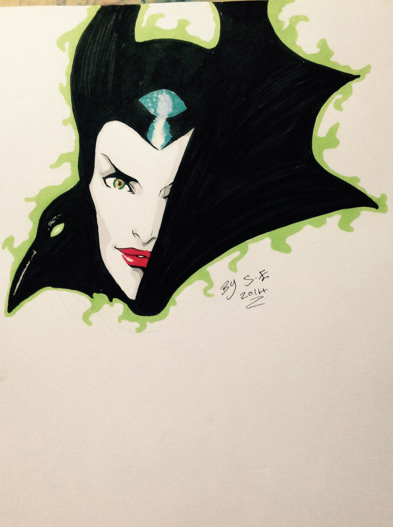 Maleficent by FOX-hime
