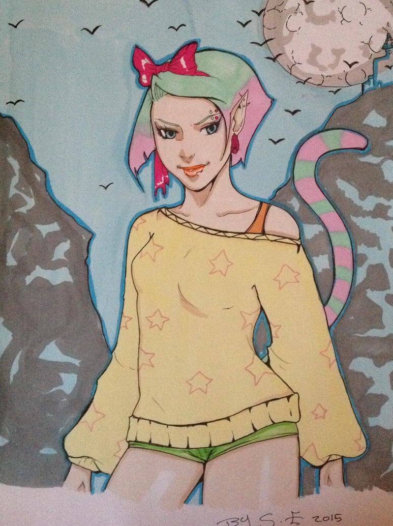 Hellcat by FOX-hime