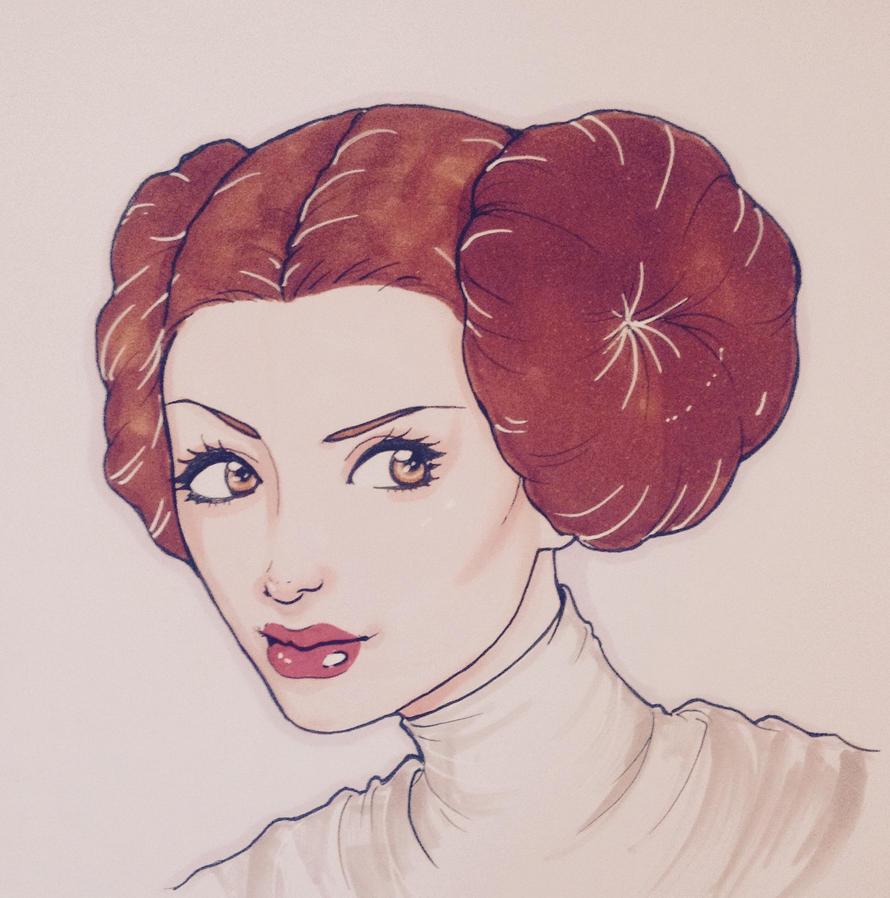 Princess Leia by FOX-hime