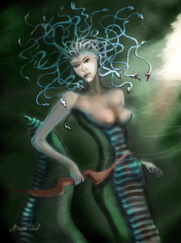 Medusa by BasakTinli