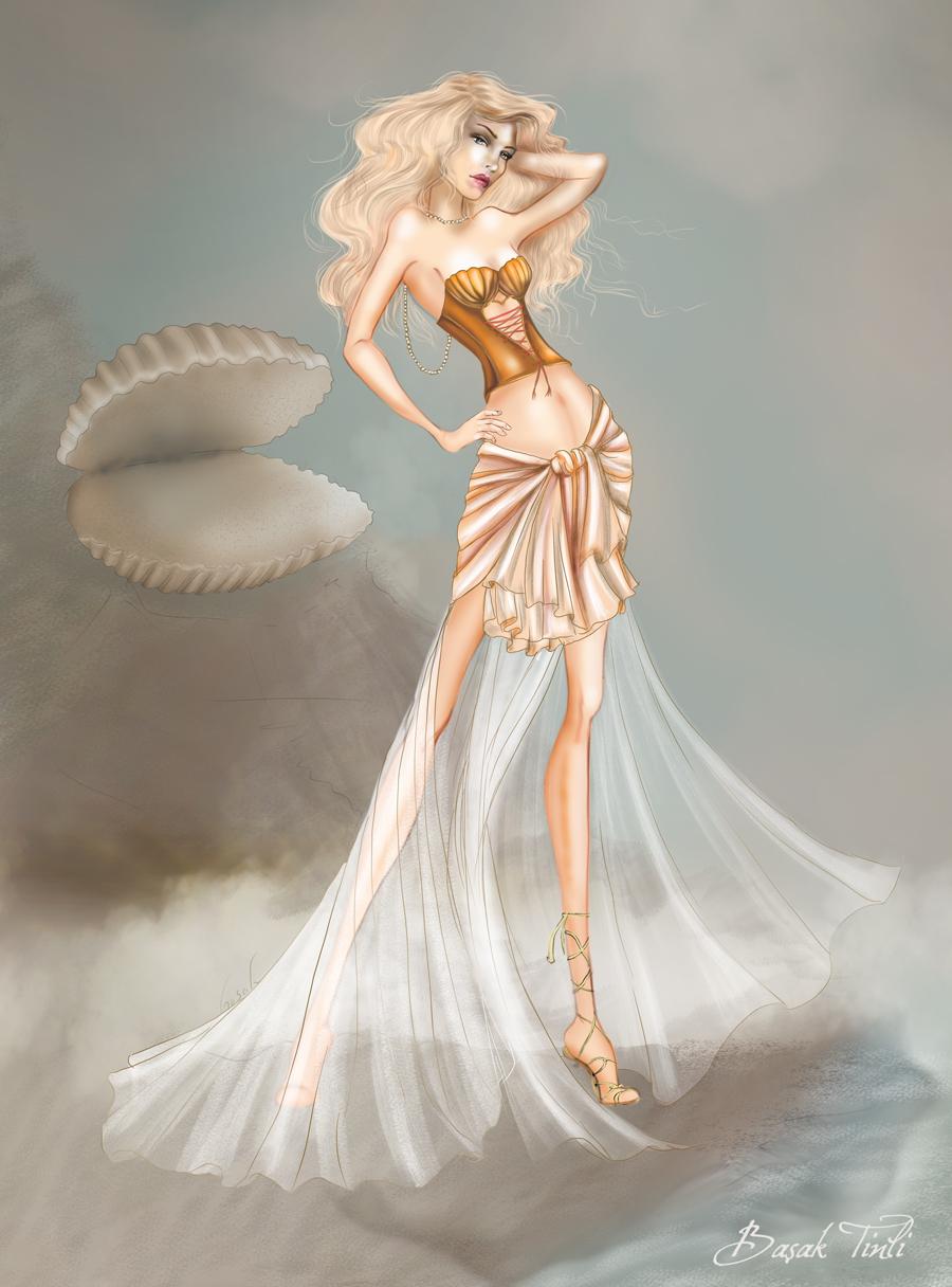 Aphrodite - Ancient Greece Theme Challange by BasakTinli