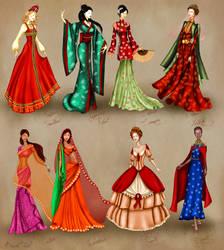 World Culture Costume Series