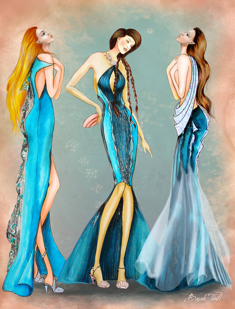 Daughters of Poseidon Fashion Collection 1