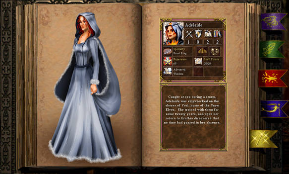 Adelaide the cleric full outfit
