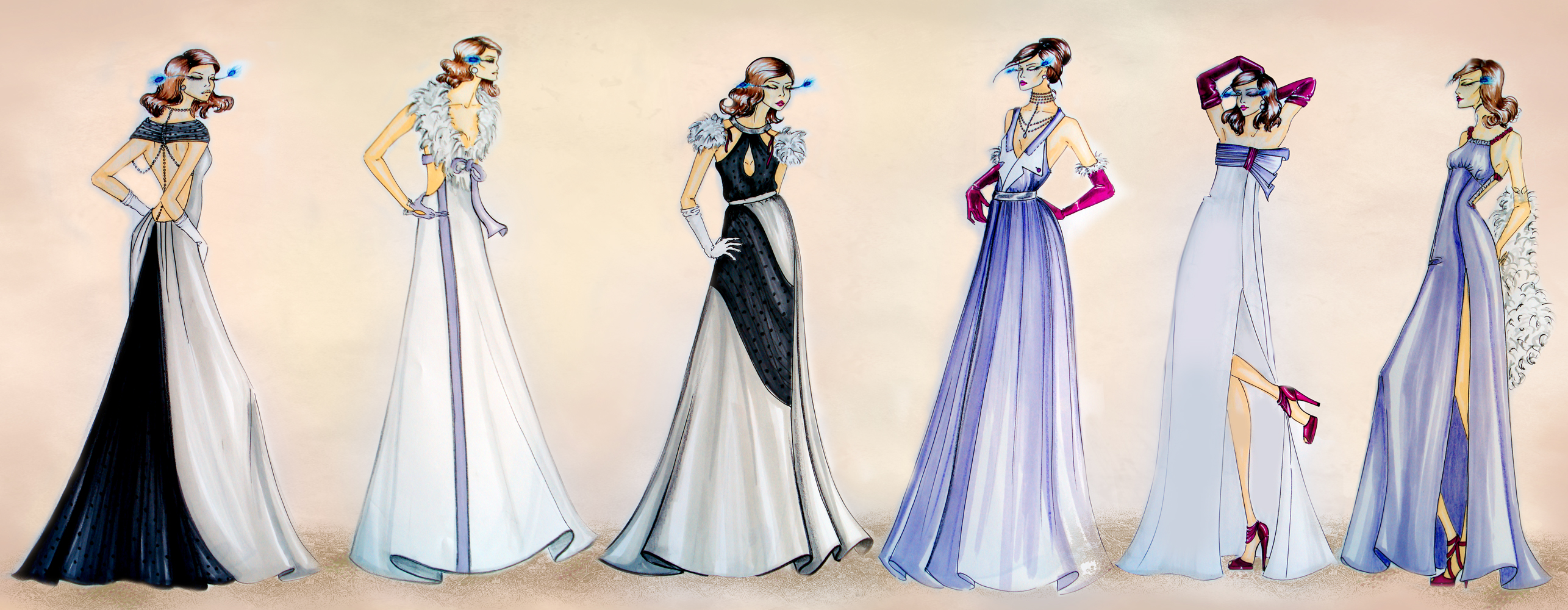 Design Collab With Vivette 30s Fashion Collection By Basaktinli On Deviantart