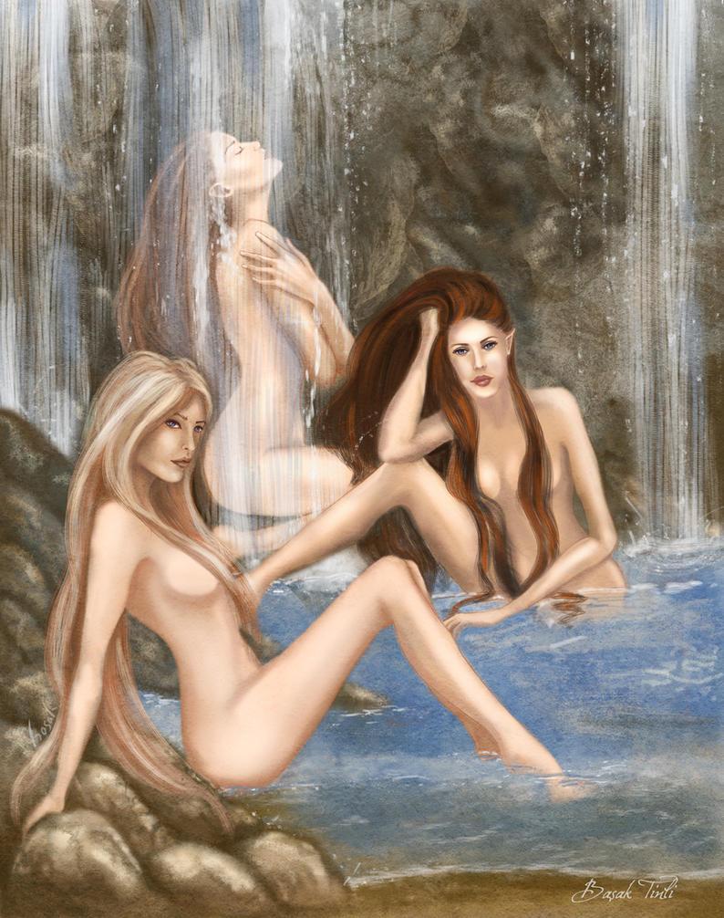 Elven erotic art