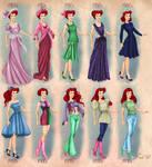 Ariel in 20th century fashion