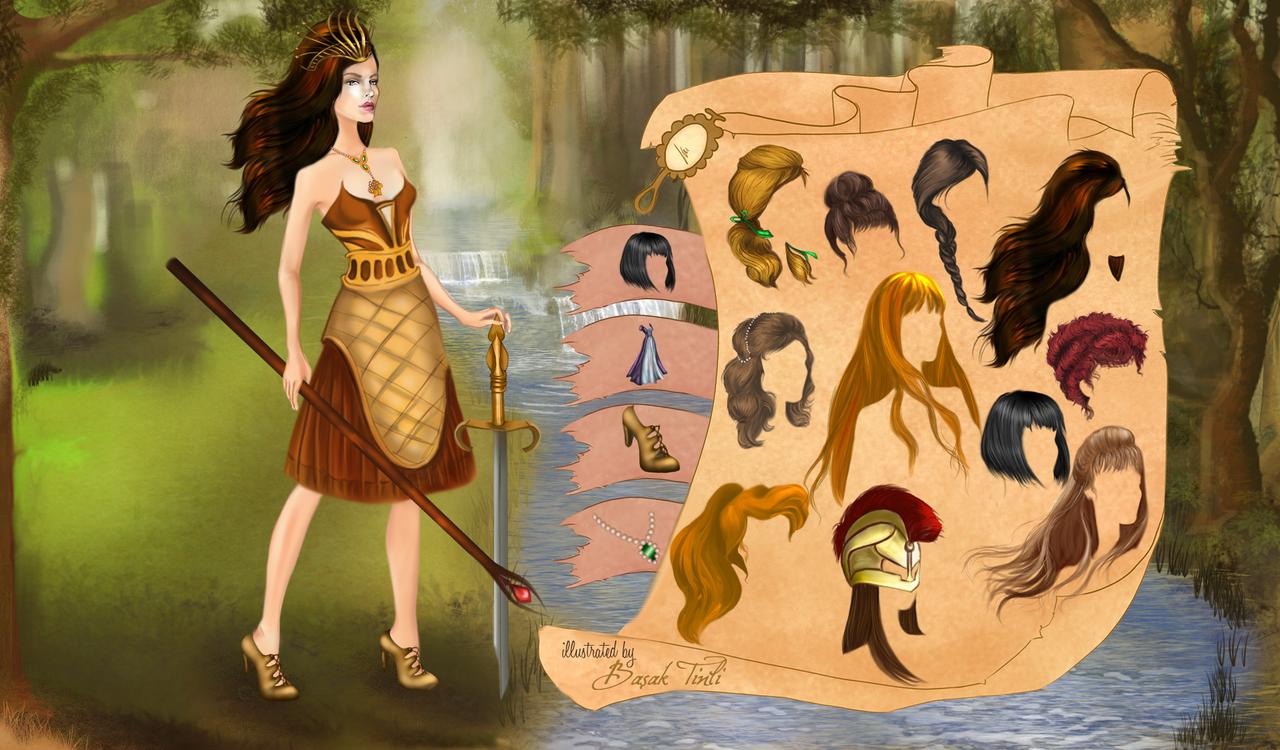 Dress up princess games - Dress Up Flash Game Fashion Dress Up Game Warrior Princess By Basaktinli