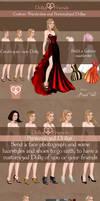 Wardrobe Commission and Custom Paper Dolls by BasakTinli