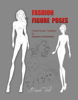 Cover figure template book