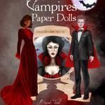 Vampires Paper Dolls: Wardrobe No: 11 by BasakTinli