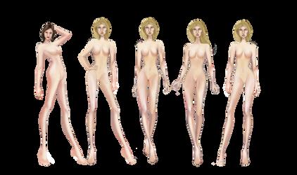 Fashion poses by BasakTinli