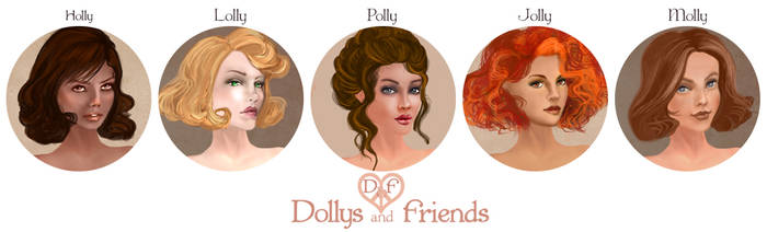 Dollys and Friends Banner