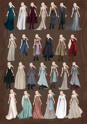 Costumes  for Khaleesi Daenerys Targaryen