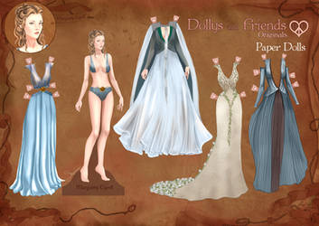 Margaery Tyrell Paper Doll by BasakTinli
