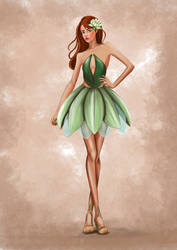 Amazon Lily Fashion illustration with video