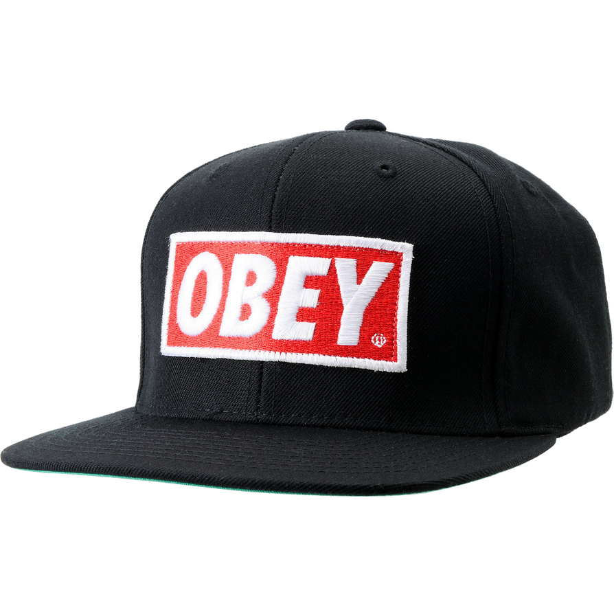 obey hat transparent