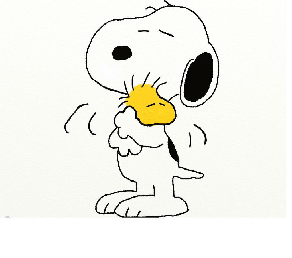 Snoopy And Woodstock by mabrego on deviantART